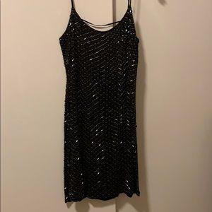 Dresses & Skirts - Black sequined dress